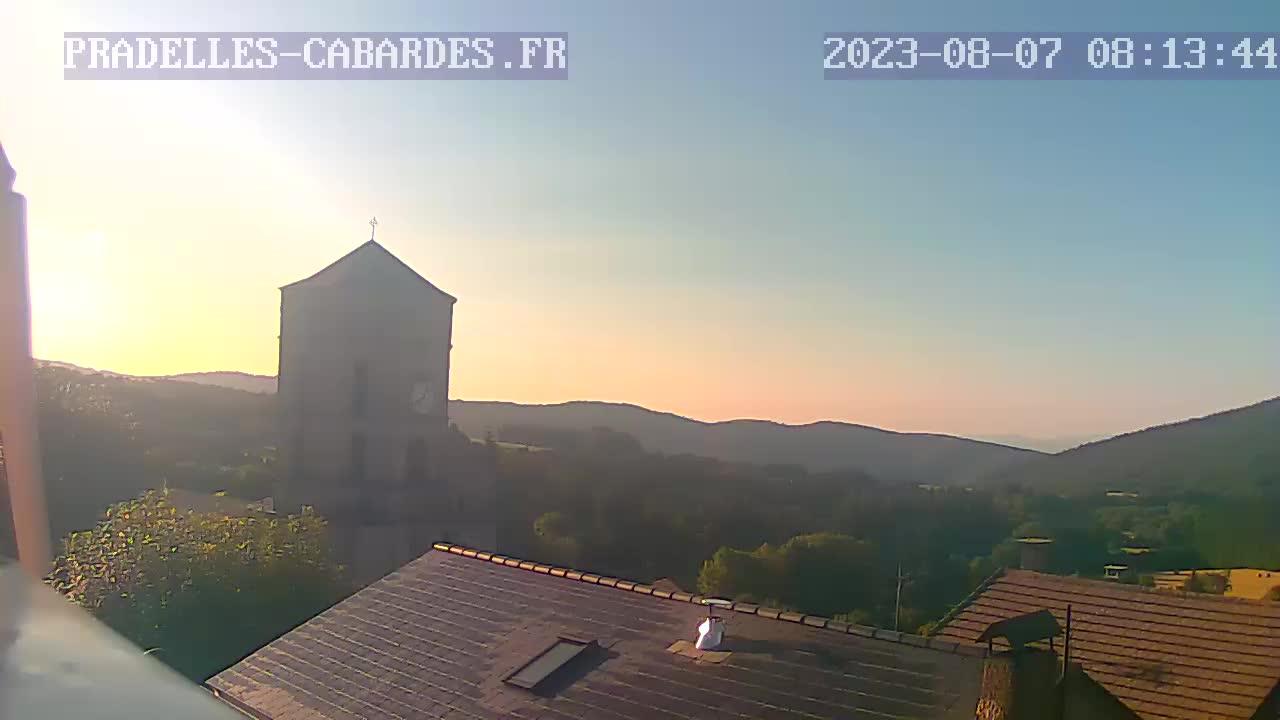 webcam Pradelles-Cabardès