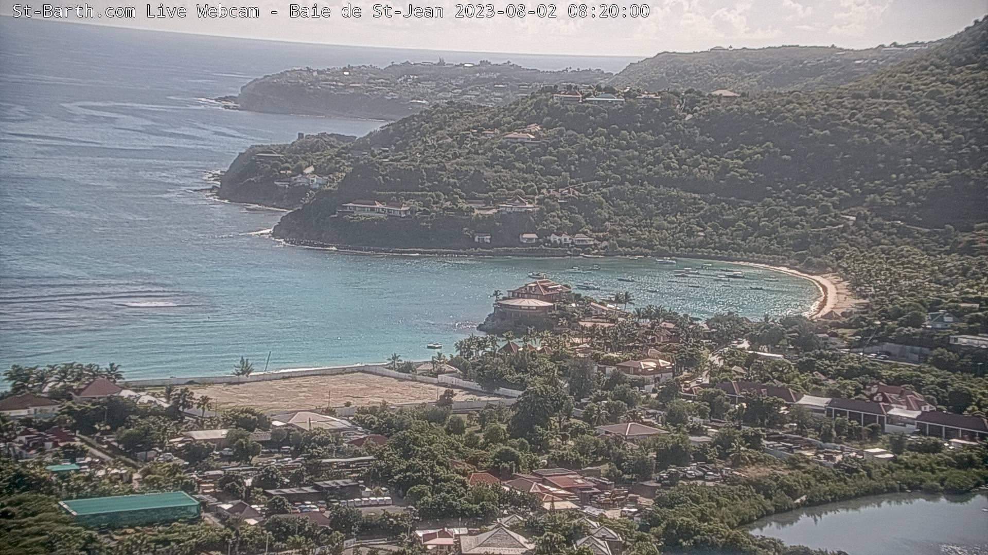 webcam St-Barth - Baie de Saint Jean