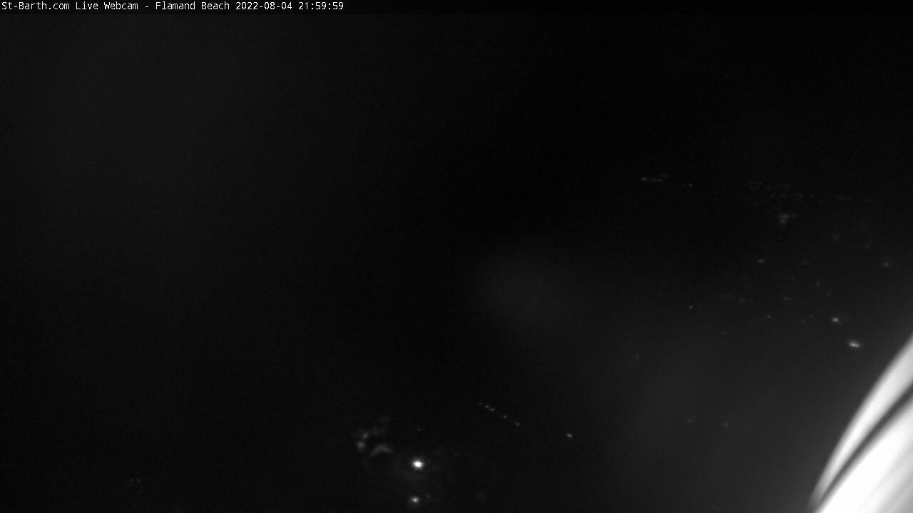 webcam St-Barth - Flamand Beach