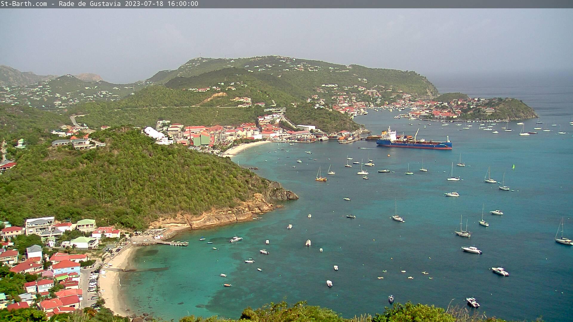 webcam St-Barth - Rade de Gustavia