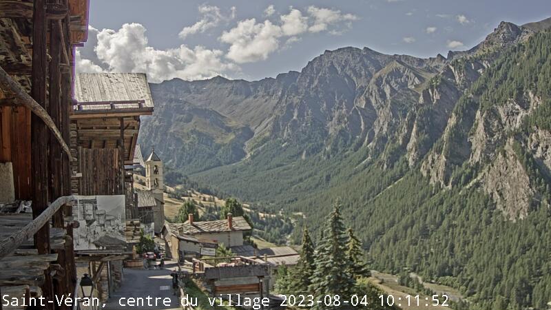 webcam Saint-Véran