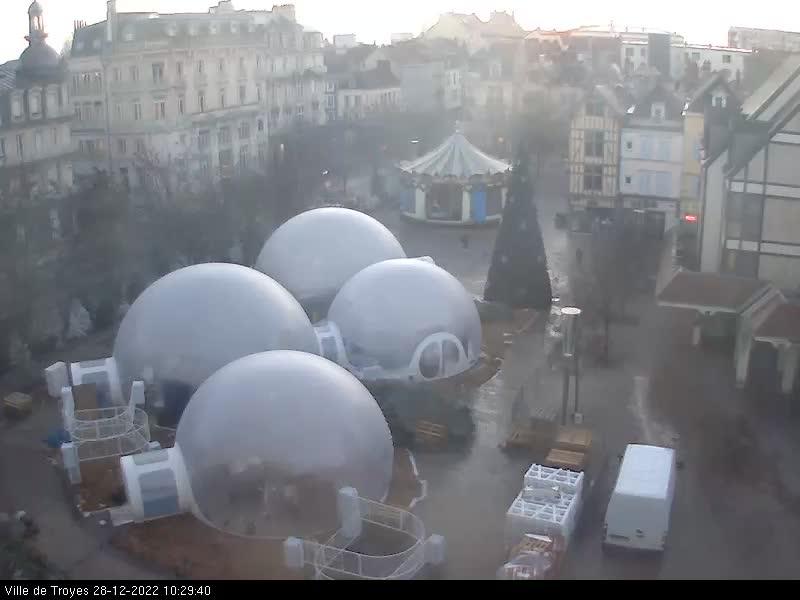 webcam Troyes - Place Alexandre Israël