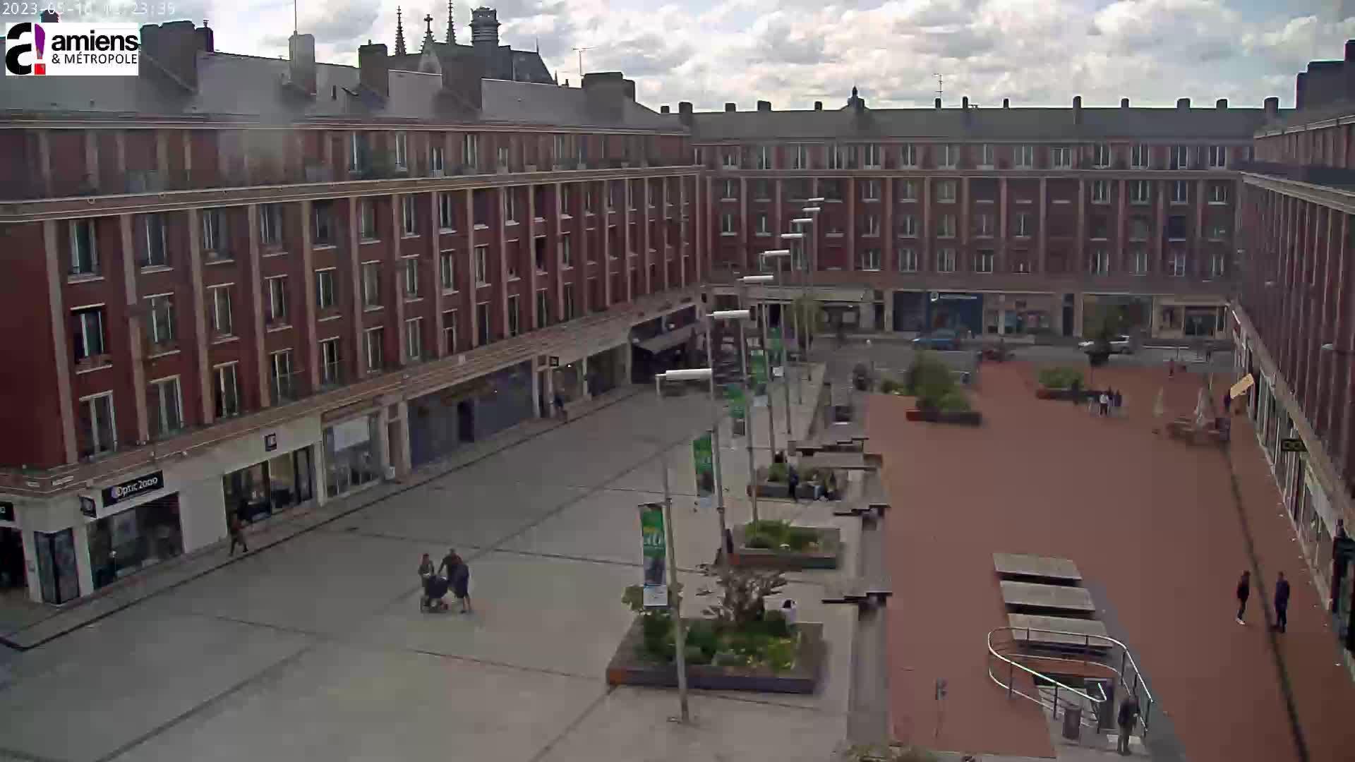 webcam Amiens - Hôtel de Ville