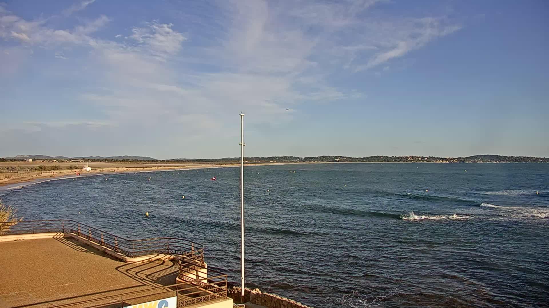 webcam Hyères - l'Almanarre