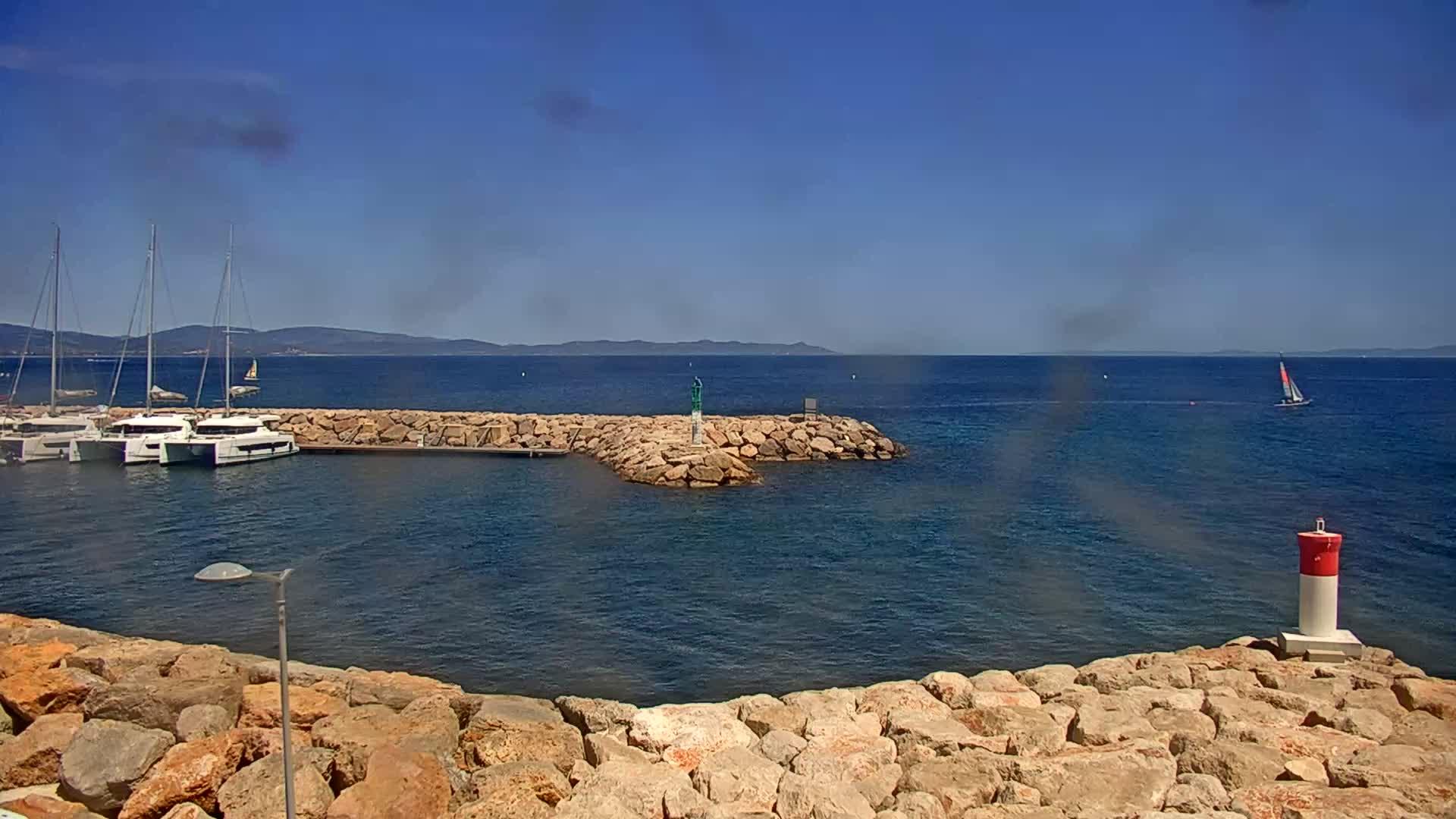 webcam Hyères - Port Saint-Pierre