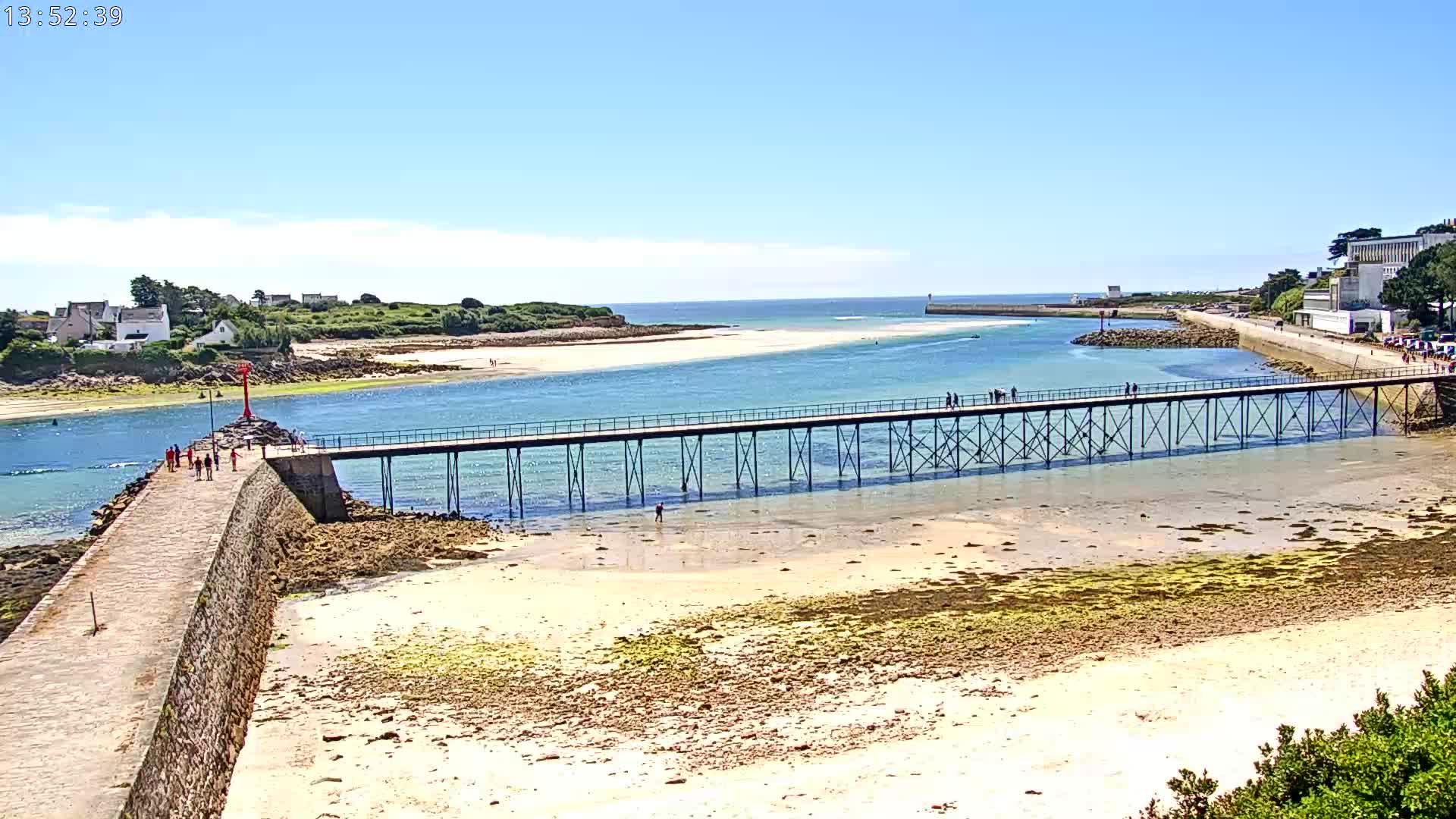 webcam Audierne - la Passerelle